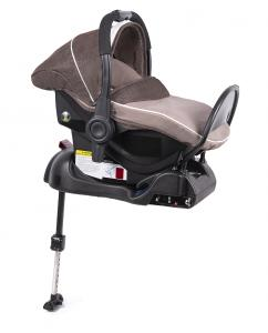 Fotelik 0-13 kg z bazą ISOFIX brown - OUTLET
