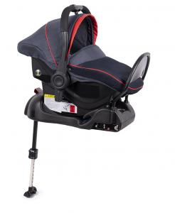 Fotelik 0-13 kg z bazą ISOFIX navy/red - OUTLET