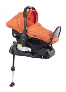 Fotelik 0-13 kg z bazą ISOFIX orange - OUTLET
