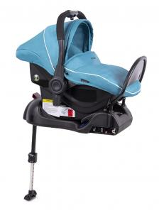 Fotelik 0-13 kg z bazą ISOFIX light blue - OUTLET